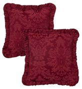 Nobrand No Brand W. Damask Red Pillow Pair