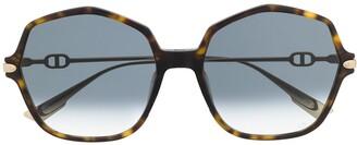 Christian Dior DiorLink2 tortoiseshell sunglasses