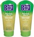 Clean & Clear Morning Burst Shine Control Facial Scrub - 5 oz - 2 pk