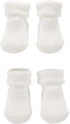 Carter's Baby 2-Pack Chenille Bootie Socks
