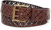 JCPenney Amiee Lynn Perforated Leather Belt