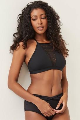 Ardene Crochet Halter Bikini Top