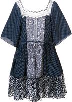 Chloé Polka Dot Babydoll Dress
