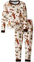 BedHead Kids Long Sleeve Long Pants Set (Toddler/Little Kids)