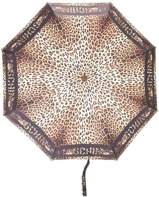 Moschino Leopard-Print Umbrella