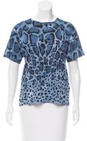 Gucci Cheetah Print Top