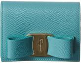Salvatore Ferragamo Vara Bow Leather Bifold Wallet
