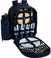 Picnic at Ascot Bold Chevron Picnic Backpack for 4