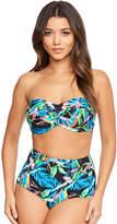 Figleaves Taupo Underwired Bandeau Bikini Top