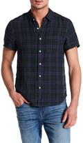 Joe's Jeans Joe&s Jeans Slim Fit Linen Plaid Shirt