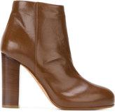 Jean-Michel Cazabat platform ankle boots - women - Calf Leather/Leather - 36
