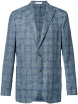 Boglioli plaid blazer - men - Silk/Linen/Flax/Wool - 50