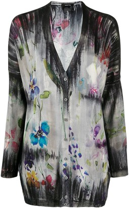 Avant Toi floral print cardigan