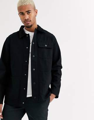 Vans Drill chore coat in black
