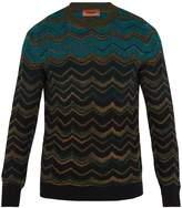 Missoni Dégradé zigzag wool-knit sweater