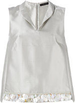 Max Mara metallic two-piece - women - Silk/Cotton - 38