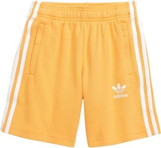 adidas Three Stripe Athletic Shorts