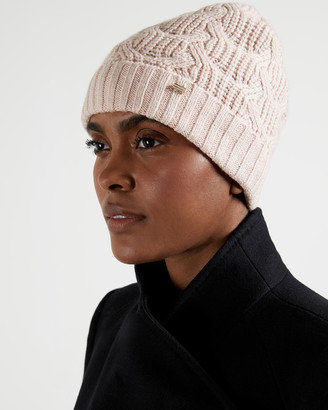 Ted Baker NATIYYA Cable knit hat