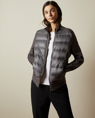 Ted Baker XINTA Puffer front knitted jacket