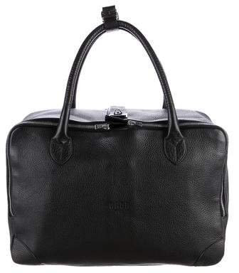 Golden Goose Leather Equipage Tote
