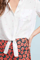 Rails Heart-Printed Blouse