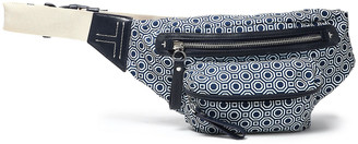 Tory Burch Leather-trimmed Printed Twill Belt Bag
