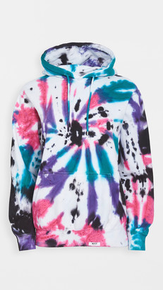 Worthy Threads Space Tie Dye Hoodie