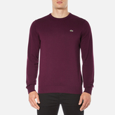 Lacoste Men's Crew Neck Jumper Vendange