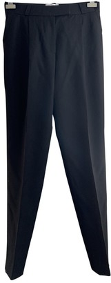 Pallas Black Wool Trousers for Women