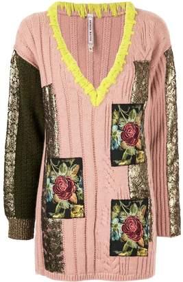 Antonio Marras patch-embellished jumper