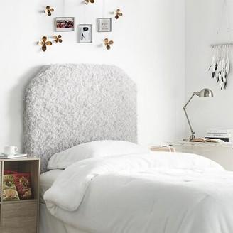 Everly Quinn Adelina Upholstered Panel Headboard Color: White