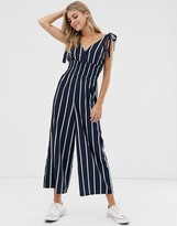 wholesale sales fantastic savings new concept Navy And White Striped Jumpsuit - ShopStyle Australia