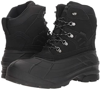 Kamik Fargo Wide (Black) Men's Cold Weather Boots