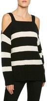 Sanctuary Women's Amelie Cold Shoulder Sweater