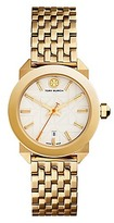 Tory Burch Whitney Watch, Gold-Tone/Ivory, 28 Mm