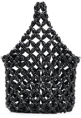 Simone Rocha Mini Bead Embellished Bag