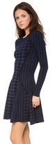 Torn By Ronny Kobo Elizabeth Patchwork Dress