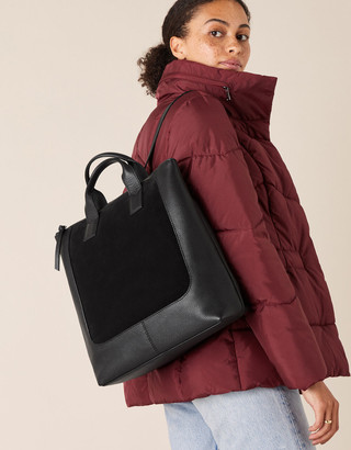 Under Armour Leather and Suede Zip-Top Bag