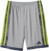 adidas Boys 4-7x Striped Mesh Shorts
