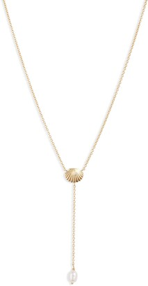 Gorjana Seashell Y-Necklace