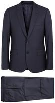 Paul Smith Soho Navy Pin-dot Wool Suit
