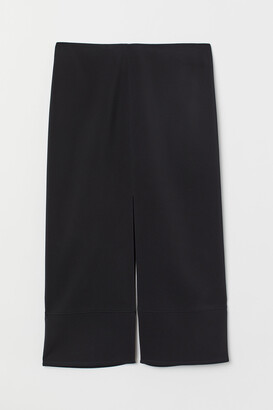 H&M Calf-length viscose skirt