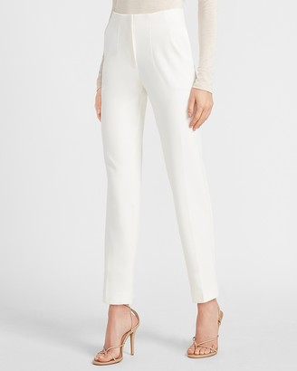 Express High Waisted Supersoft Twill Pull-On Ankle Pant