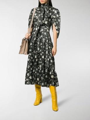 Chloé Dandelion Print Dress