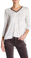 Joe Fresh Long Sleeve Space Dye Blouse