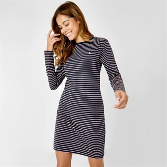 Jack Wills Capstaff Stripe Jersey Dress