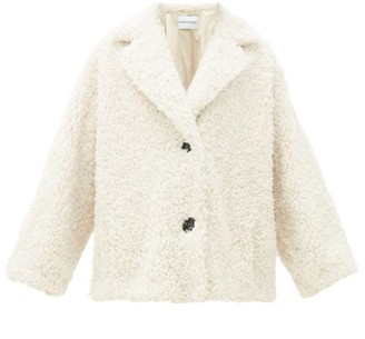 Stand Studio - Merilyn Faux-shearling Coat - Womens - Ivory