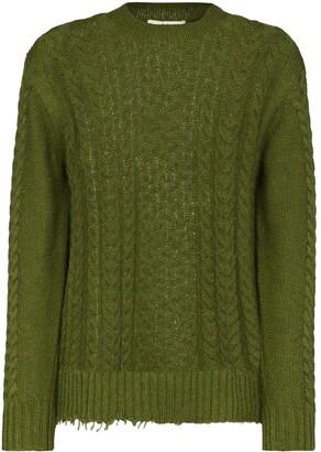 Tibi Nuage cable knit jumper