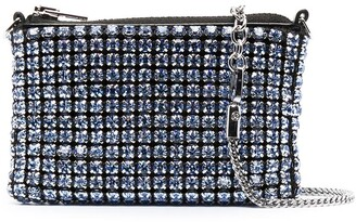 Alexander Wang Crystal-Embellished Mini Bag
