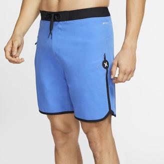"Nike Women's 18"" Board Shorts Hurley Phantom Hyperweave Max Solid"